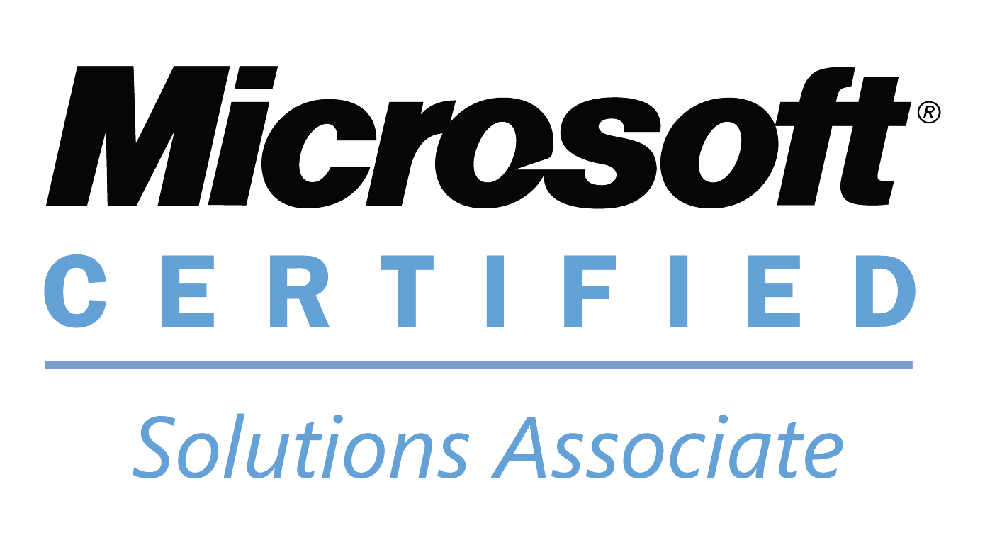 Why it microsoft certified solutions associate logo 1betcityfo Images