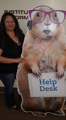 Our Friendly Help Desk Staff