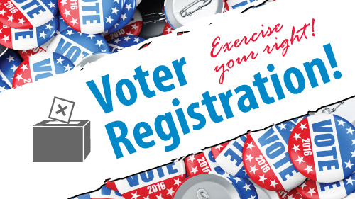 Register to vote at Clovis Community College in Clovis, New Mexico (Curry County)