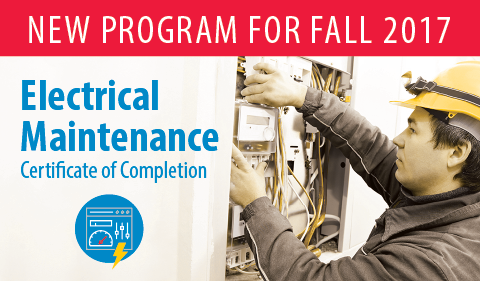New Electrical Maintenance program at Clovis Community College in Clovis, New Mexico