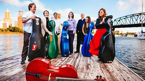The Portland Cello Project is coming to Clovis, New Mexico on January 25!