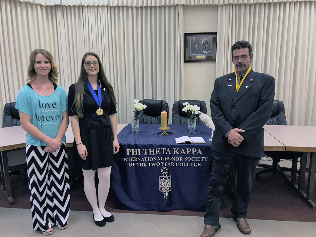 PTK officers for 2017 at Clovis Community College