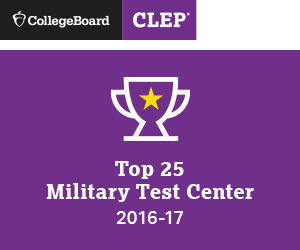 CLEP Top 25 Military Test Center